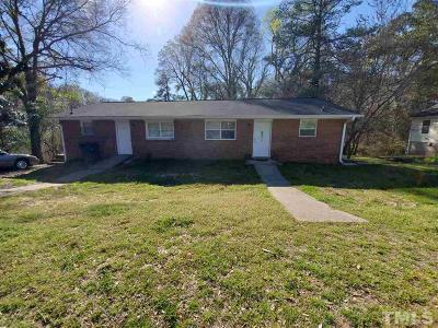 Wake County, Durham County, Orange County Multi Family Home For Sale: 1100 Rosedale Avenue