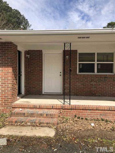 Wake County, Durham County, Orange County Multi Family Home For Sale: 1214 Rosedale Avenue