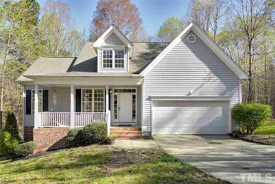 Granville County Single Family Home Contingent: 4104 Maynard Circle