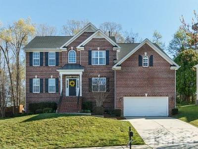 Wake Forest Single Family Home For Sale: 9224 Dansforeshire Way
