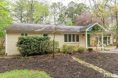 Carrboro Single Family Home For Sale: 204 Westview Drive