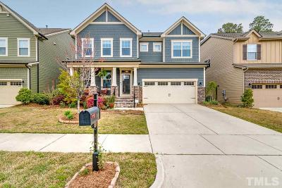 Cary Single Family Home For Sale: 3116 Bluff Oak Drive