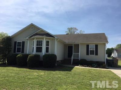 Johnston County Rental For Rent: 118 Brandon Drive