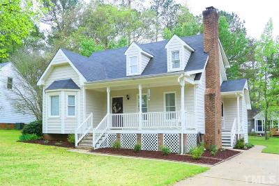 Knightdale Single Family Home Pending: 406 Carrington Drive