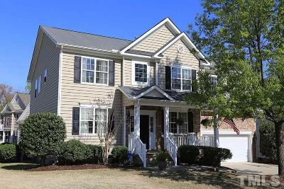 Wake Forest Single Family Home Contingent: 3701 Song Sparrow Drive