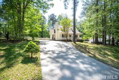 Youngsville Single Family Home Contingent: 145 Beaver Ridge Drive