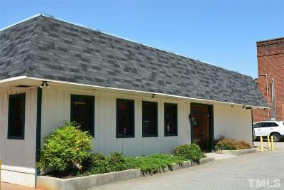 Chatham County Commercial For Sale: 37 Hillsboro Street