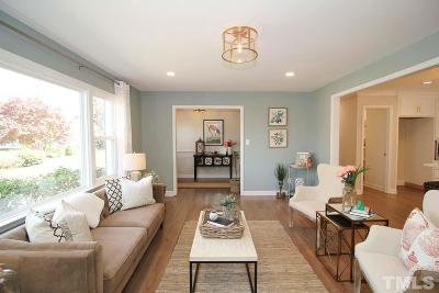 Raleigh Single Family Home Contingent: 4217 Redington Drive