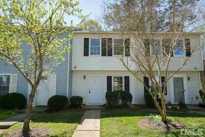 Durham Townhouse For Sale: 21 Providence Court