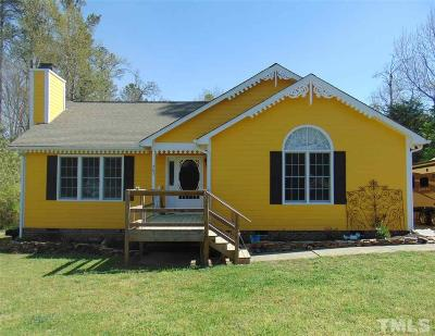 Granville County Single Family Home Pending: 602 24th Street