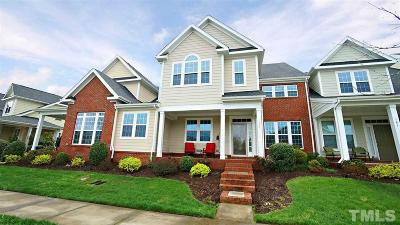 Holly Springs Townhouse For Sale: 157 Coffee Bluff Lane