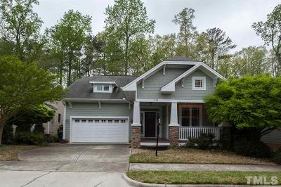 Apex Single Family Home For Sale: 1119 Long Gate Way