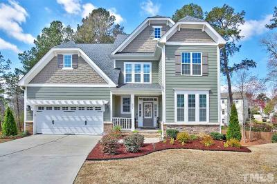 Apex Single Family Home For Sale: 801 Dotson Way