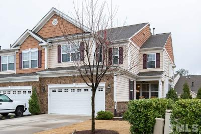Cary Townhouse For Sale: 416 Fly Bridge Drive
