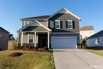 Clayton Single Family Home For Sale: 501 Rolling Meadows Drive