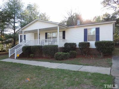 Harnett County Manufactured Home Contingent: 898 Heritage Way