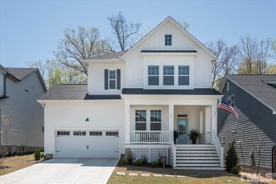 Chapel Hill Single Family Home For Sale: 19 Bluffwood Avenue