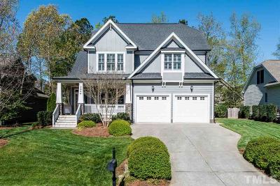 Apex Single Family Home Contingent: 2804 Oakley Woods Lane