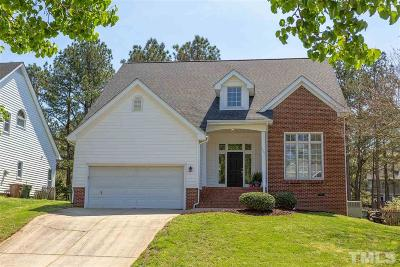 Cary Single Family Home Contingent: 105 Brigh Stone Drive