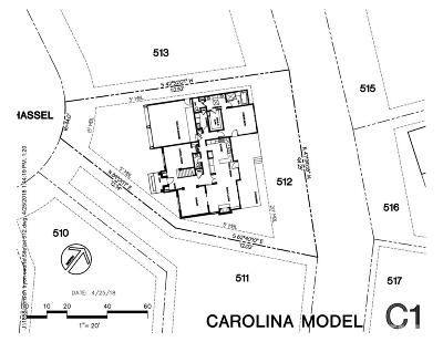 Chapel Hill Residential Lots & Land For Sale: 74305 Hasell