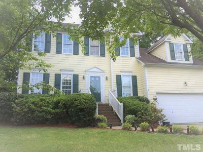 Cary Single Family Home Pending: 309 Sarabande Drive
