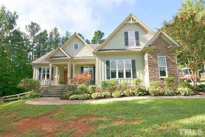 Granville County Single Family Home For Sale: 3658 Jordan Circle