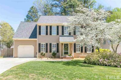 Apex Single Family Home Contingent: 2103 Cannonford Court