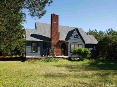 Jackson Springs NC Single Family Home For Sale: $165,000