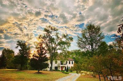 Chatham County Single Family Home For Sale: 4352 Pea Ridge Road