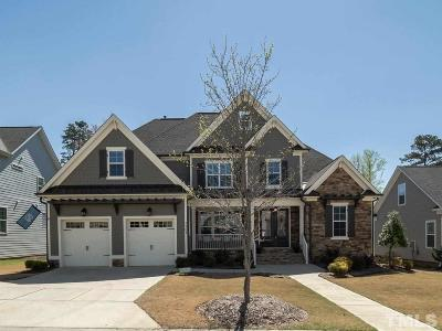 Wake Forest Single Family Home For Sale: 1101 Woodland Grove Way
