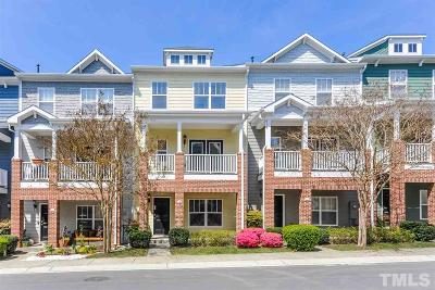 Cary Townhouse For Sale: 144 Braeside Court