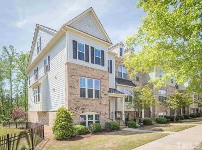 Raleigh Townhouse For Sale: 5617 Wade Park Boulevard