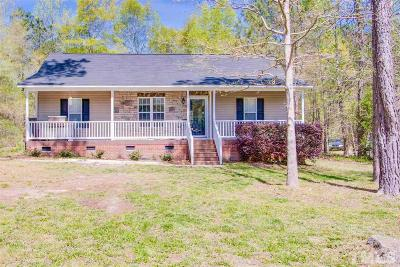 Clayton Single Family Home Contingent: 625 Sunray Drive