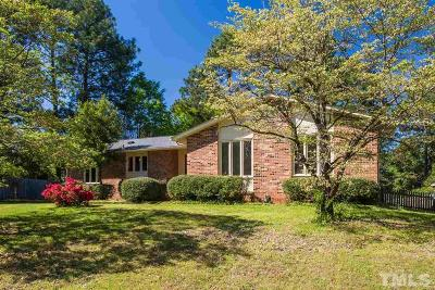 Wake County Single Family Home For Sale: 3512 Morningside Drive