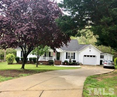 Clayton Single Family Home For Sale: 112 E Browning Court