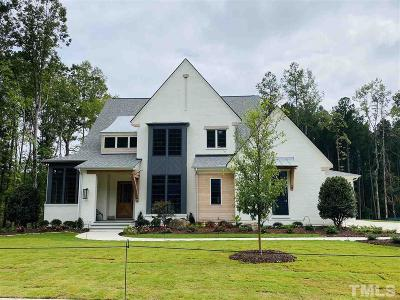 Apex Single Family Home For Sale: 821 Journeys Rest Lane