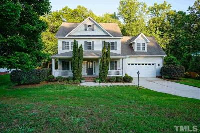 Apex Single Family Home For Sale: 8605 Glade Hill Drive