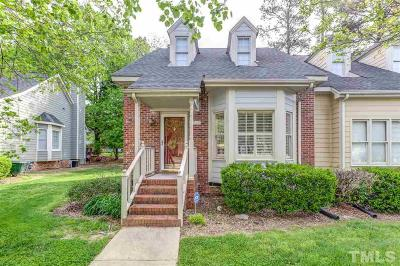 Raleigh Townhouse For Sale: 1228 Shadowbark Court
