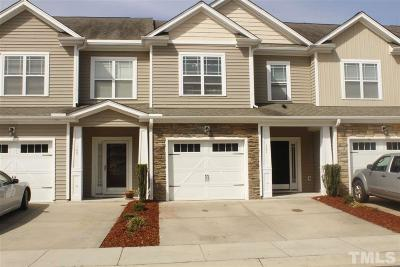 Rolesville Townhouse For Sale: 107 Leighann Ridge