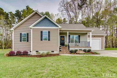 Granville County Single Family Home For Sale: 102 Bluegrass Drive