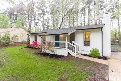 Cary Single Family Home Contingent: 1308 Kilmory Drive
