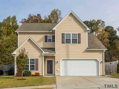 Raleigh Single Family Home Contingent: 5213 Carnelian Drive