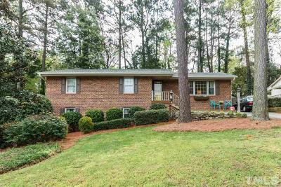Wake County Single Family Home Contingent: 3208 Huntleigh Drive
