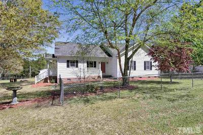 Angier Single Family Home For Sale: 3770 County Line Road
