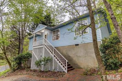 Chapel Hill Single Family Home For Sale: 102 Fan Branch Lane
