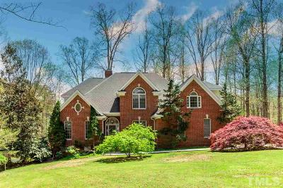 Wake Forest Single Family Home For Sale: 5260 Mill Dam Road