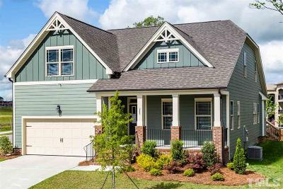 Fuquay Varina Single Family Home For Sale: 245 Marley Way #Lot 93