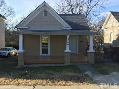 Durham Single Family Home For Sale: 424 S Driver Street