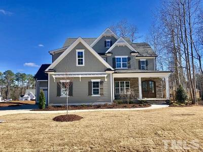 Raleigh Single Family Home Pending: 12313 Marsh Field Drive