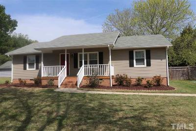 Rougemont Single Family Home Contingent: 6900 Kiger Road